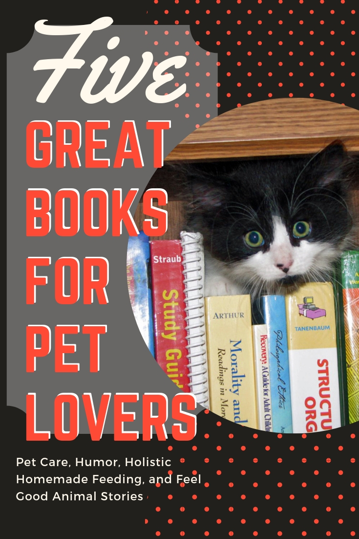 Have a pet lover on your gift list? Whether you are looking for a book on making your homemade holistic dog food, a stocking stuffer for your favorite child, emergency pet care, a bit of humor, or a bit of four-legged inspiration I've got you covered.