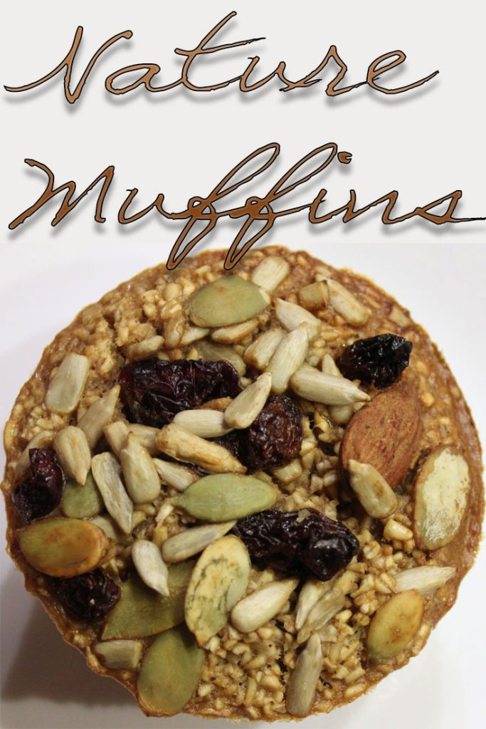 Make these delicious Nature Muffins (baked steel cut oats) on Sunday and enjoy a quick, ready to eat, healthy breakfast every morning during the week. These muffins refrigerate well. Just heat and enjoy.