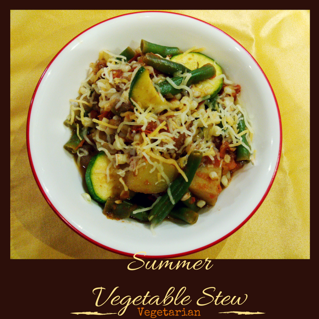 Make use of summer's bounty with this Summer Vegetable Stew