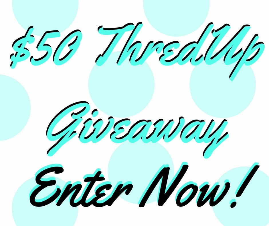 Enter to win a $50 ThredUp Gift Card Giveaway