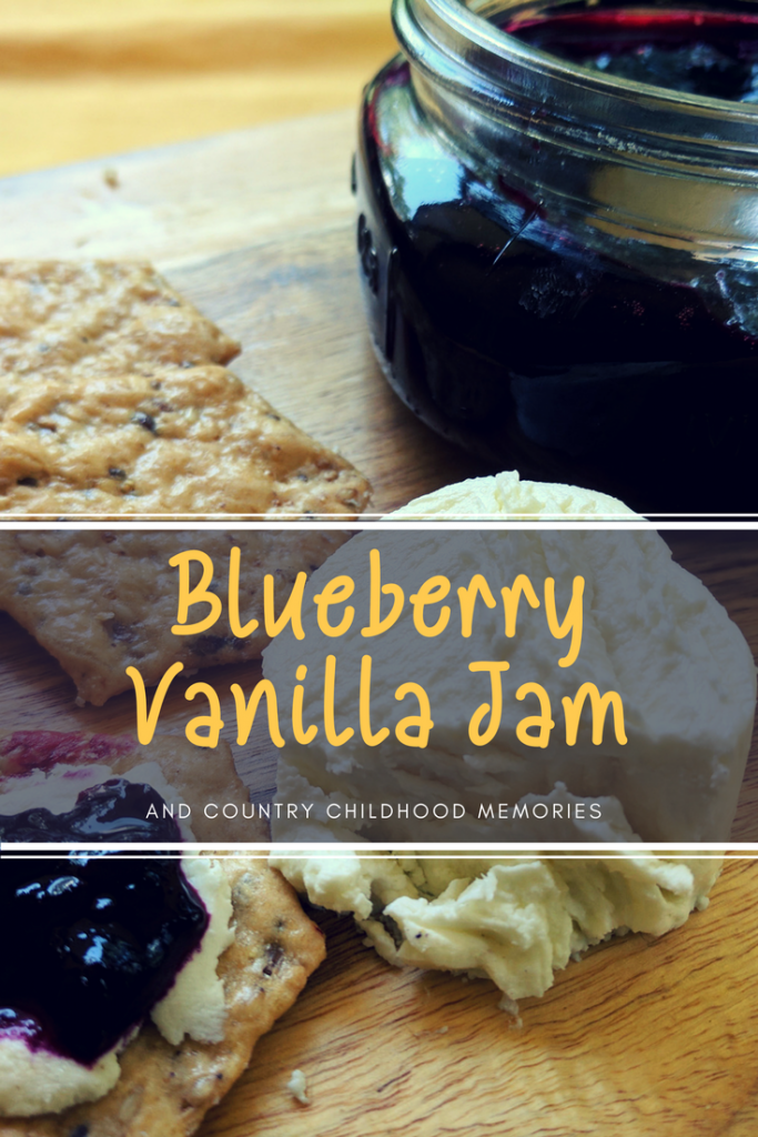 This country vanilla blueberry jam uses no pectin. The agave syrup is completely optional. If you don't add it, it's a no-sugar added jam. It only takes 30 minutes to make.