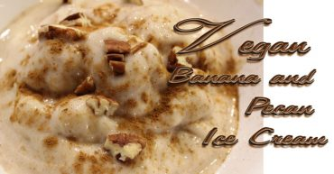 Vegan Banana Pecan Ice Cream Recipe