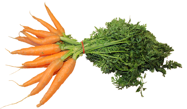 Carrots are great for veggie broth - even the greens!