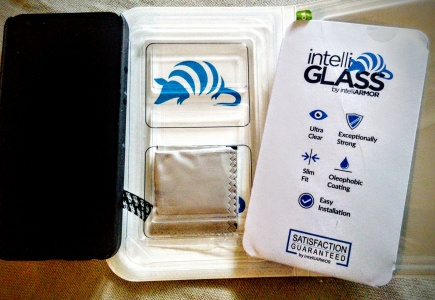 intelliglass screen protector Kit